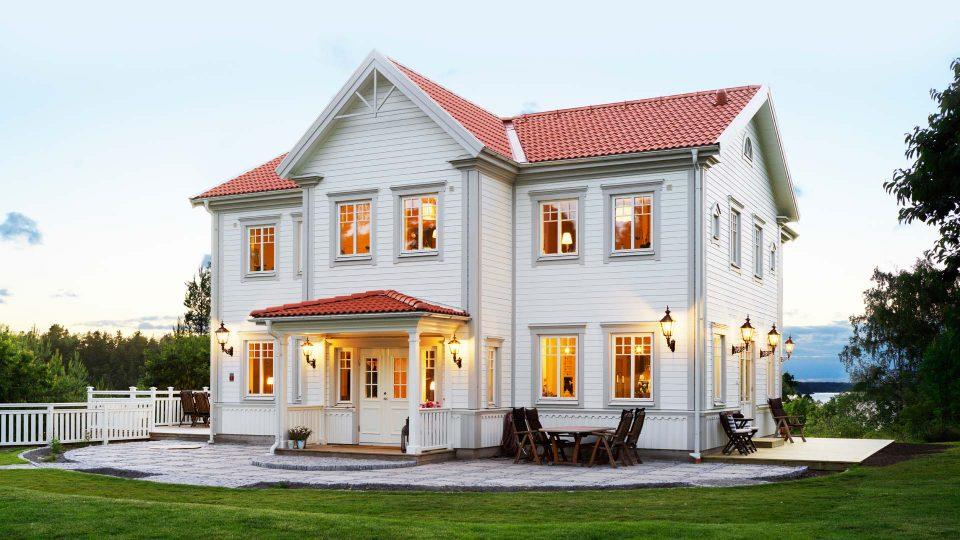 bygga hus i gammal stil